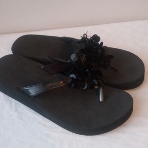 Wedge Thong Sandals